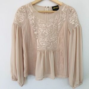 RARE Vintage Abyss By Abby Blouse - Size XS